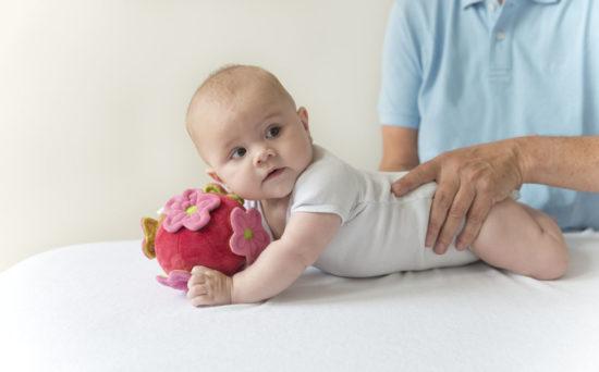 Kinderfysiotherapie bij voorkeurshouding